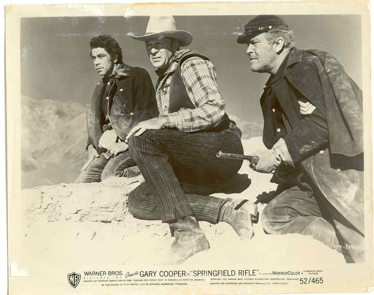 Springfield Rifle (film) Springfield Rifle 1952 Gary Cooper John Wayne Message Board JWMB