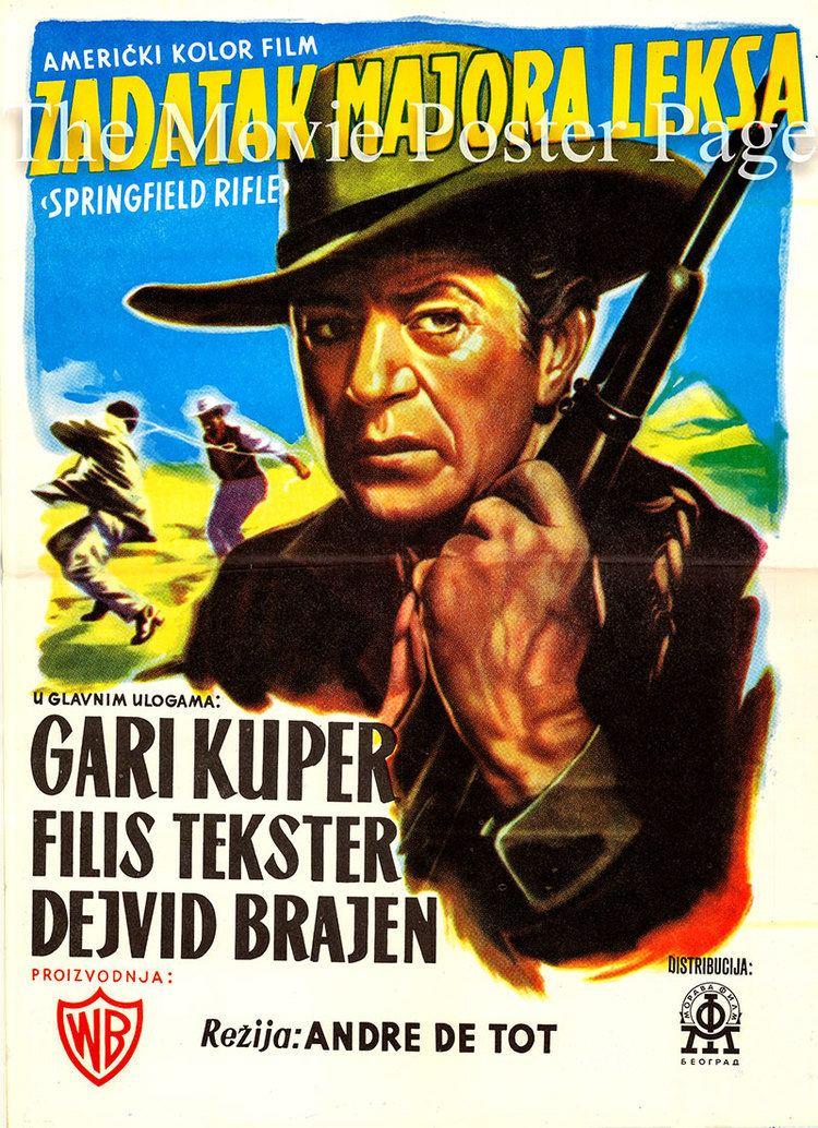 Springfield Rifle (film) Springfield Rifle 1952 Gary Cooper Yugoslavian F NM 75