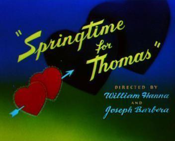 Springtime for Thomas movie poster