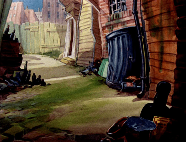 Springtime for Thomas movie scenes As far as I know Bob Gentle was the background artist in the Hanna Barbera unit and would have painted these in Springtime for Thomas 1946