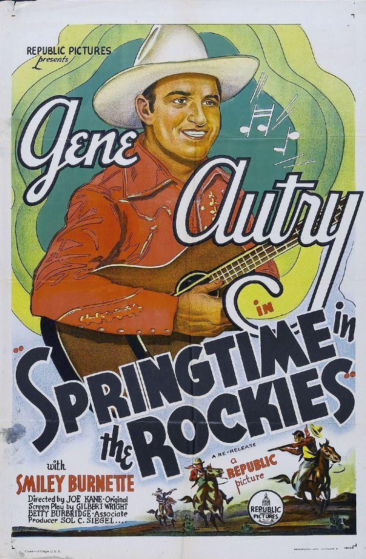 Springtime in the Rockies (1937 film) Springtime in the Rockies 1937 film Wikipedia