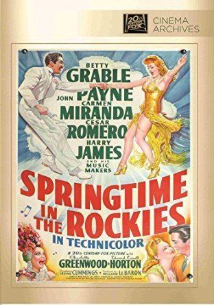 Springtime in the Rockies Amazoncom SPRINGTIME IN THE ROCKIES Betty Grable Carmen Miranda