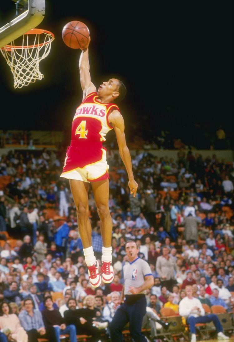 Spud Webb 30th Anniversary Of Spud Webb NBA Dunk Contest Champion KOSU