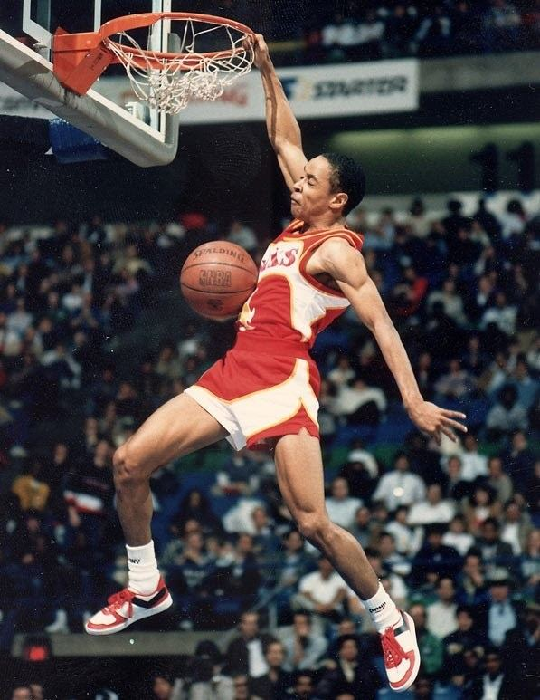 Spud Webb Spud Webb 360 Dunk 1986 YouTube