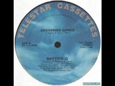Spyder-D SpyderD Smerphies Dance 1982 YouTube