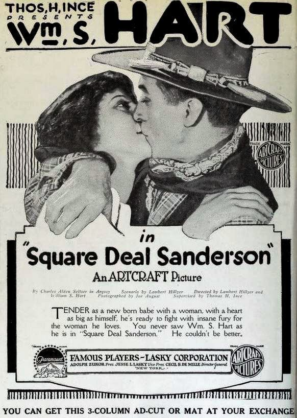Square Deal Sanderson movie poster