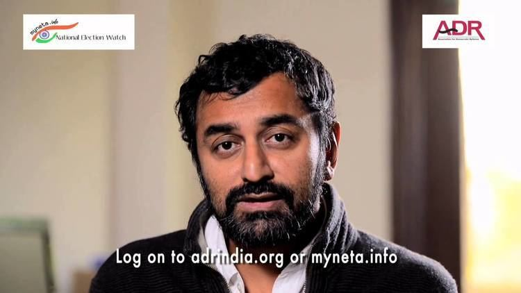 Sreenivasan Jain Sreenivasan Jain appeals to the people of Delhi to vote