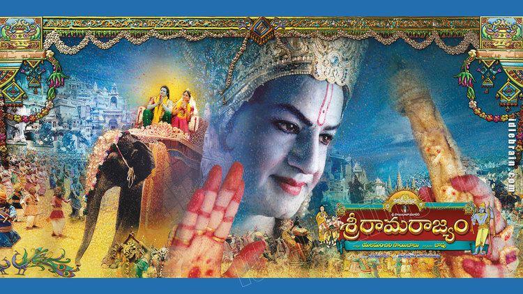 Sri Rama Rajyam Sri Rama Rajyam Telugu film wallpapers Telugu cinema