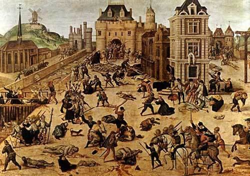 St. Bartholomew's Day massacre The Virgin Blue Background St Bartholomew39s Day Massacre