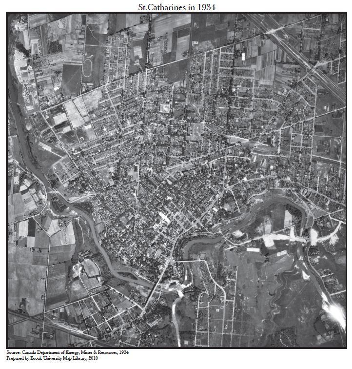 St Catharines in the past, History of St Catharines