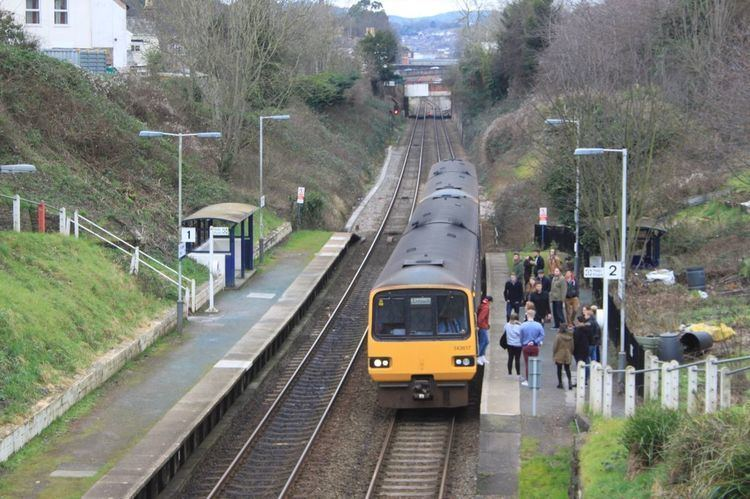 St James Park railway station