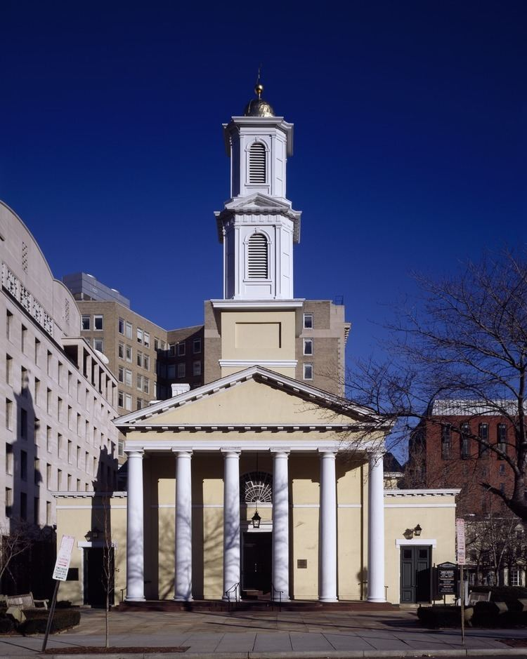 St. John's Episcopal Church, Lafayette Square