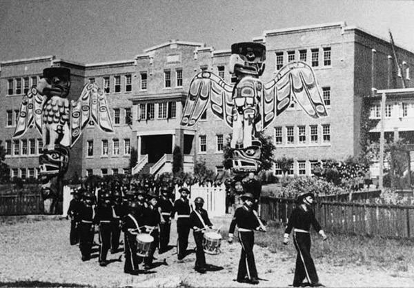 St. Michael's Indian Residential School (Alert Bay) Marking the End of a 39Dark Era39 The Tyee