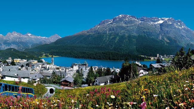 St Moritz Tourist places in St Moritz