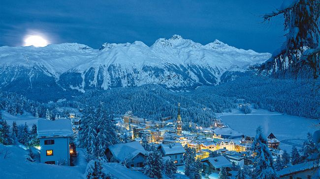St Moritz in the past, History of St Moritz