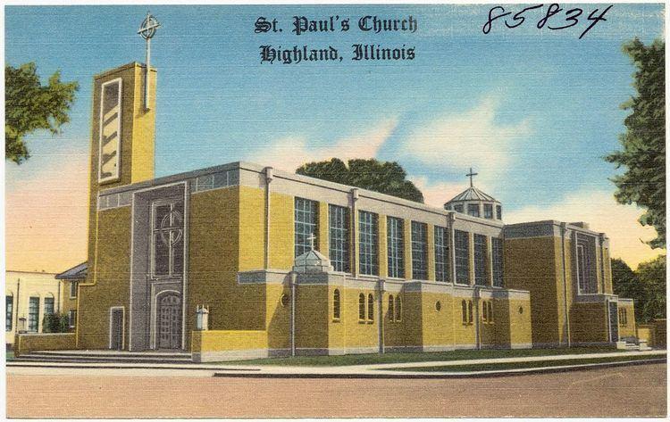 St. Paul Catholic Church (Highland, Illinois)