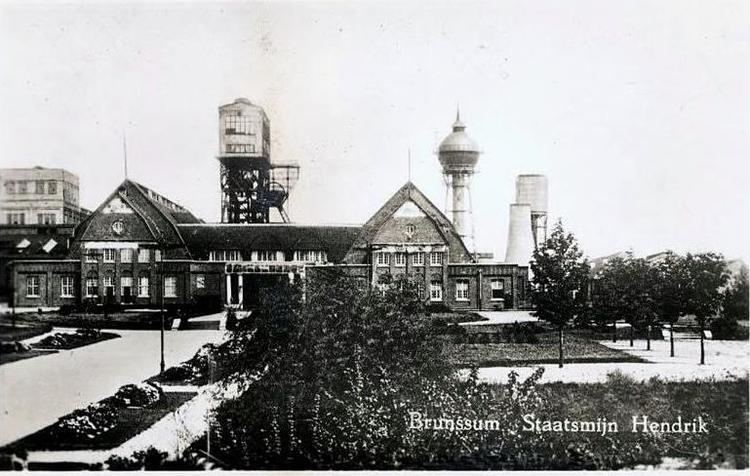 Staatsmijn Hendrik Watertoren Brunssum Staatsmijn Hendrik 1912 Oveducon