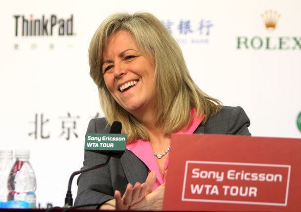 Stacey Allaster WTA CEO Stacey Allaster Retires From Post Tennis Now