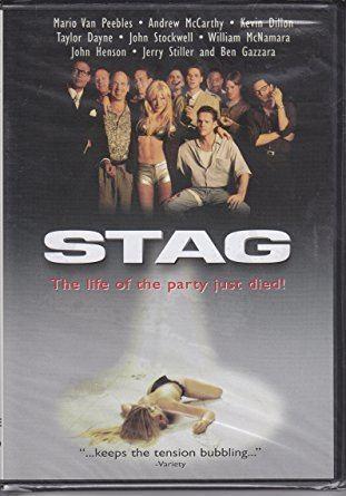 Stag (film) Amazoncom Stag 1997 Mario Van Peebles Andrew McCarthy Kevin
