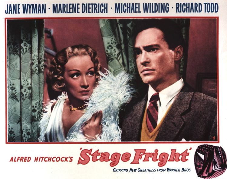 Stage Fright (1950 film) Stage Fright Alfred Hitchcock 1950 Movie classics