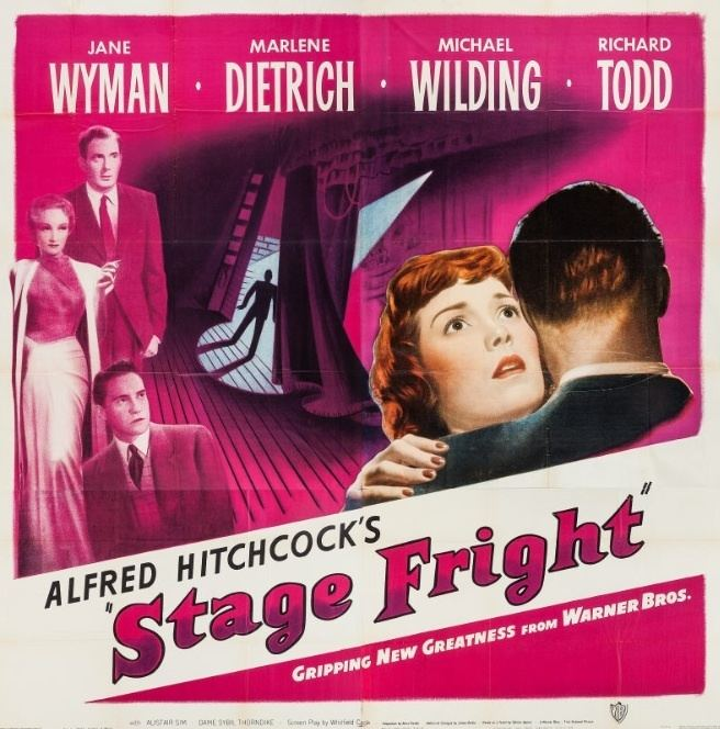 Stage Fright (1950 film) Stage Fright Feb 23 1950 OCD Viewer