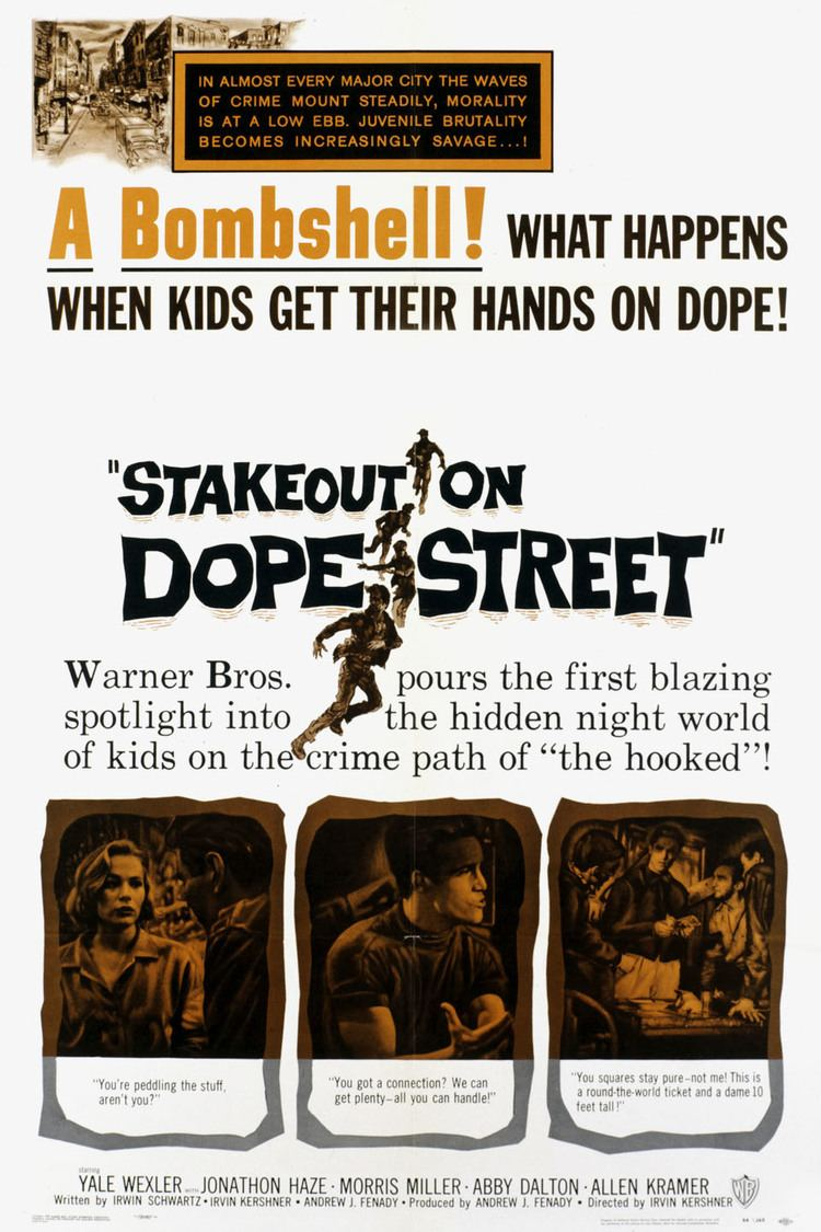Stakeout on Dope Street wwwgstaticcomtvthumbmovieposters81605p81605