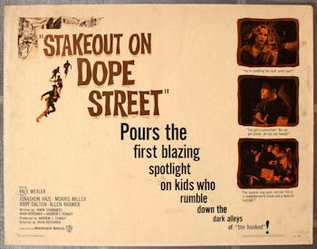 Stakeout on Dope Street Noirsville the film noir Stakeout On Dope Street 1958 Dobie