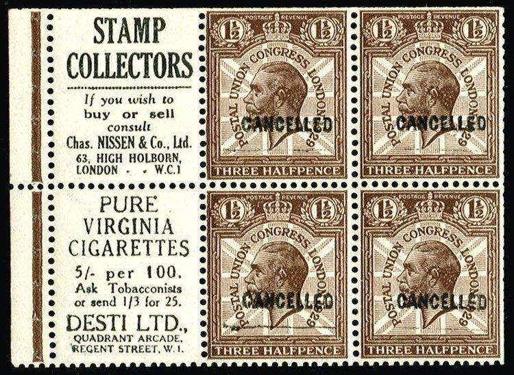 Stamp dealer