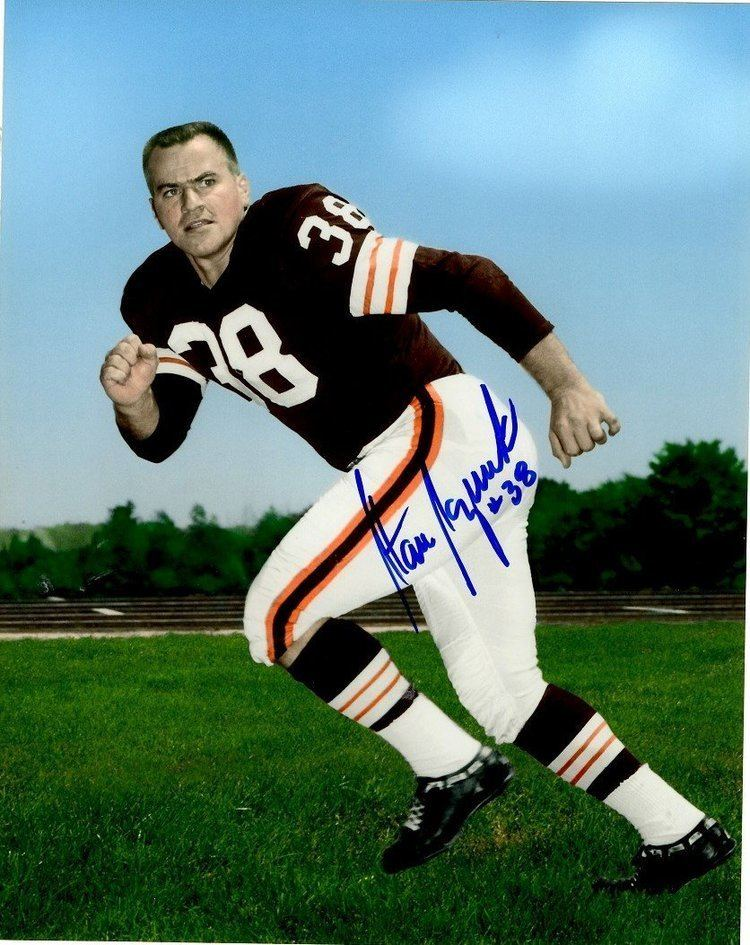 Stan Sczurek Autographed Stan Sczurek 8x10 Photo Cleveland Browns at Amazons