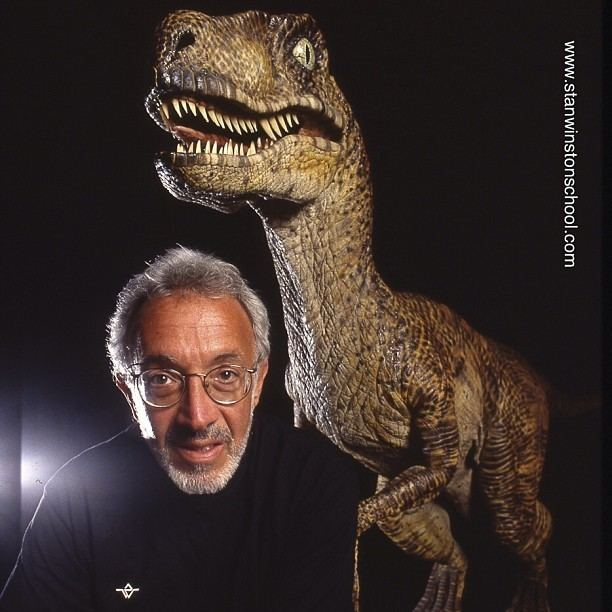 Stan Winston With Stan Winston School and Kluge Winning a Webby the
