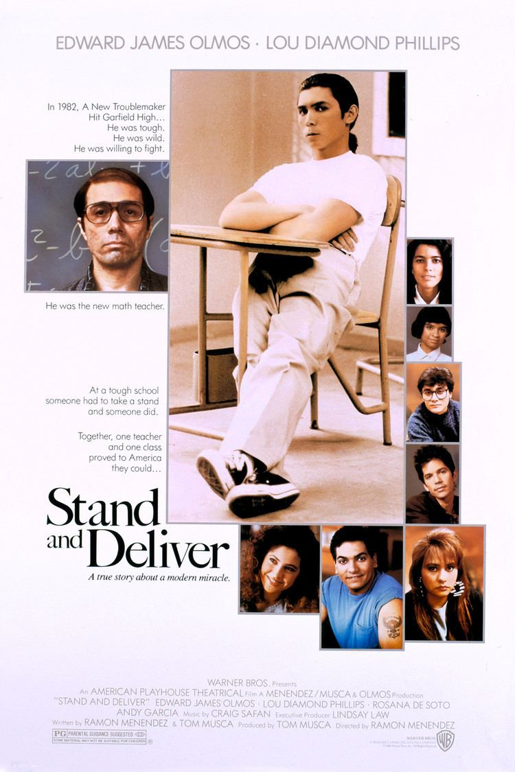 Stand and Deliver wwwgstaticcomtvthumbmovieposters10614p10614
