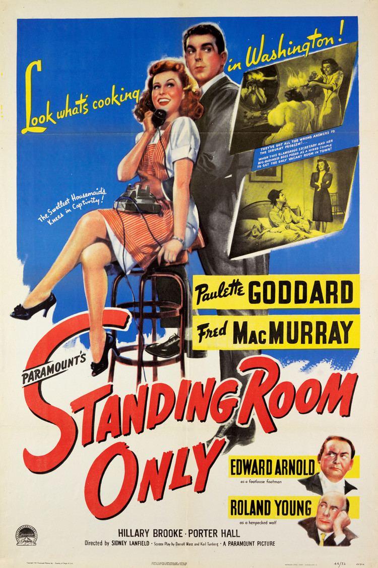 Standing Room Only (1944 film) wwwgstaticcomtvthumbmovieposters41041p41041