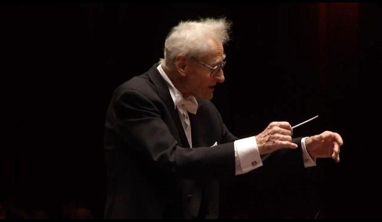 Stanisław Skrowaczewski Stanislaw Skrowaczewski Former Conductor Of The Minnesota Orchestra