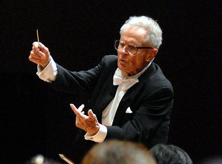 Stanisław Skrowaczewski Conductor Skrowaczewski 93 Suffered Mild Stroke Pizzicato