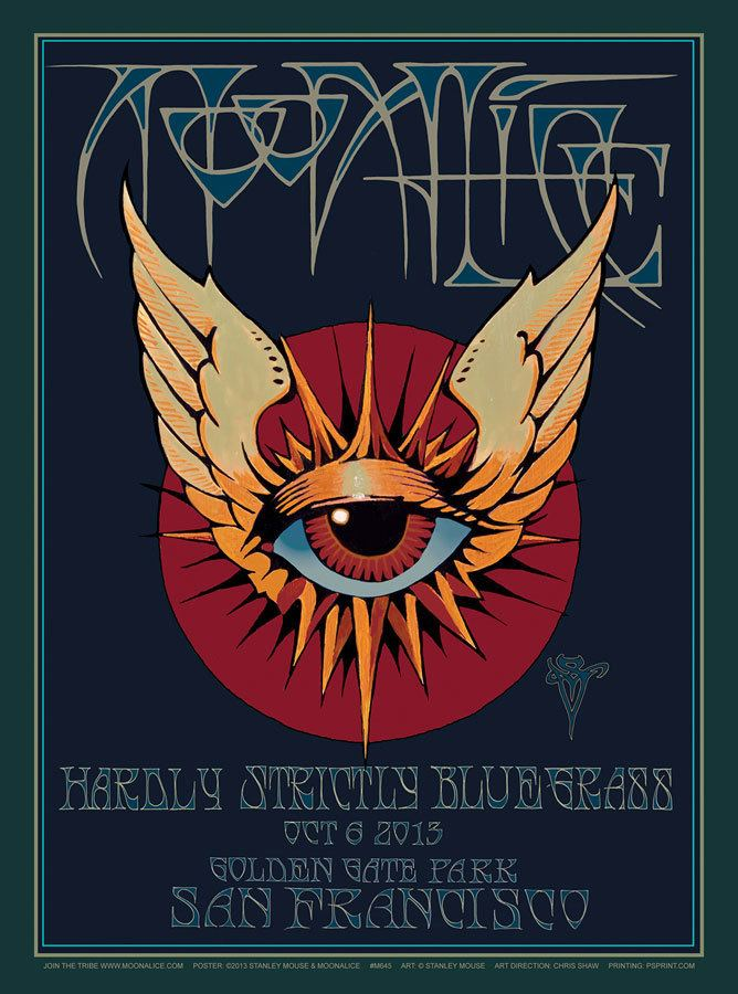Stanley Mouse Stanley Mouse Moonalice Posters