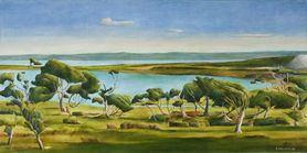 Stanley Palmer (artist) nkb Gallery Auckland fine art dealer Stanley Palmer