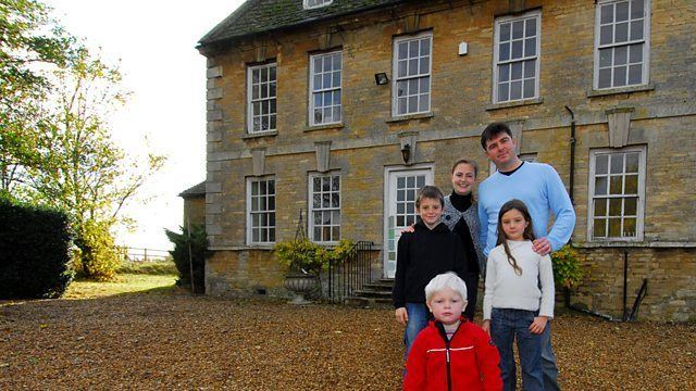 Stanwick Hall in Northamptonshire as featured in BBC TV series Restoration Home Season 1, Episode 4.