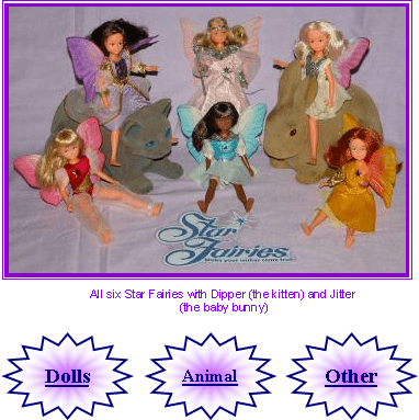 Star Fairies Tonka Toys Star Fairies Dolls