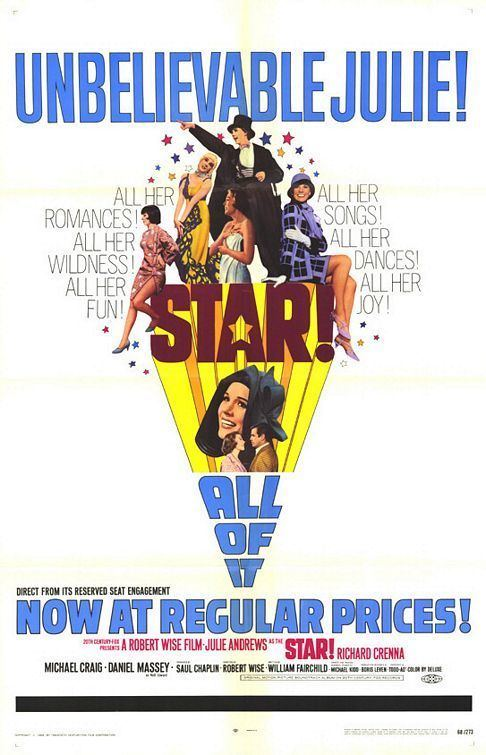 Star! (film) Star Movie Poster 1 of 2 IMP Awards