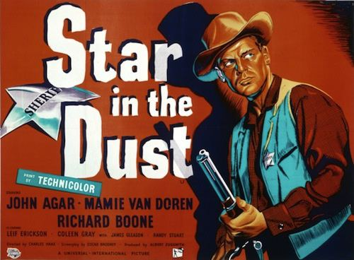 Star in the Dust 50s Westerns Bluray News 174 Star In The Dust 1956 50