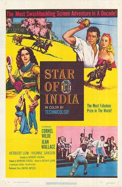 Star of India (film) Star Of India movie posters at movie poster warehouse moviepostercom