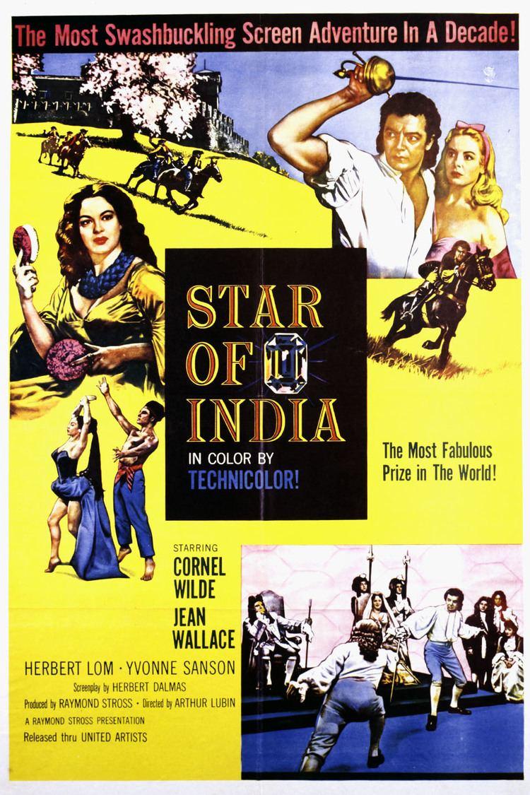 Star of India (film) wwwgstaticcomtvthumbmovieposters71062p71062