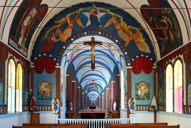 Star of the Sea Painted Church