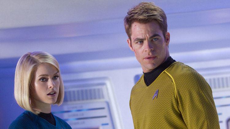 Star Trek movie scenes star trek into darkness