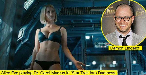 Star Trek movie scenes Alice Eve Star Trek
