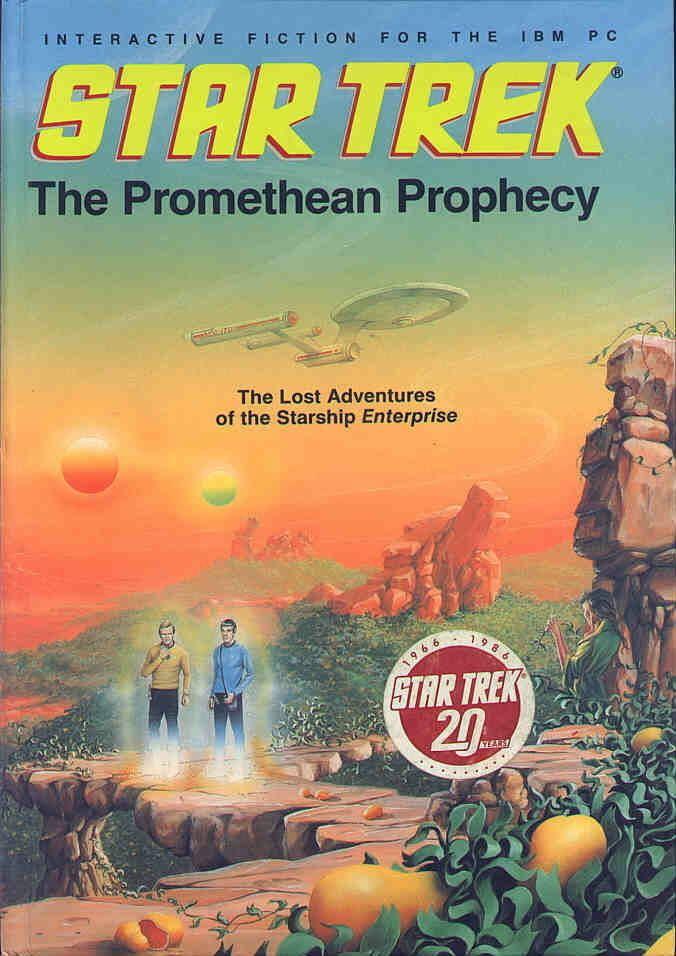 Star Trek: The Promethean Prophecy Star Trek The Promethean Prophecy for Apple II 1986 MobyGames