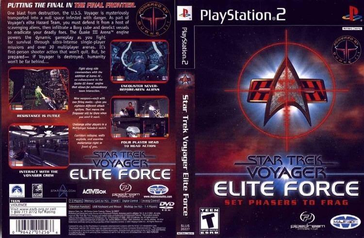 Star Trek: Voyager – Elite Force Star Trek Voyager Elite Force Europe EnFrDeEsIt ISO