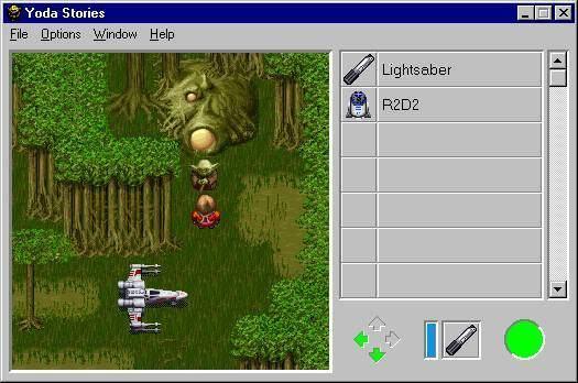Star Wars: Yoda Stories Star Wars Yoda Stories User Screenshot 1 for PC GameFAQs