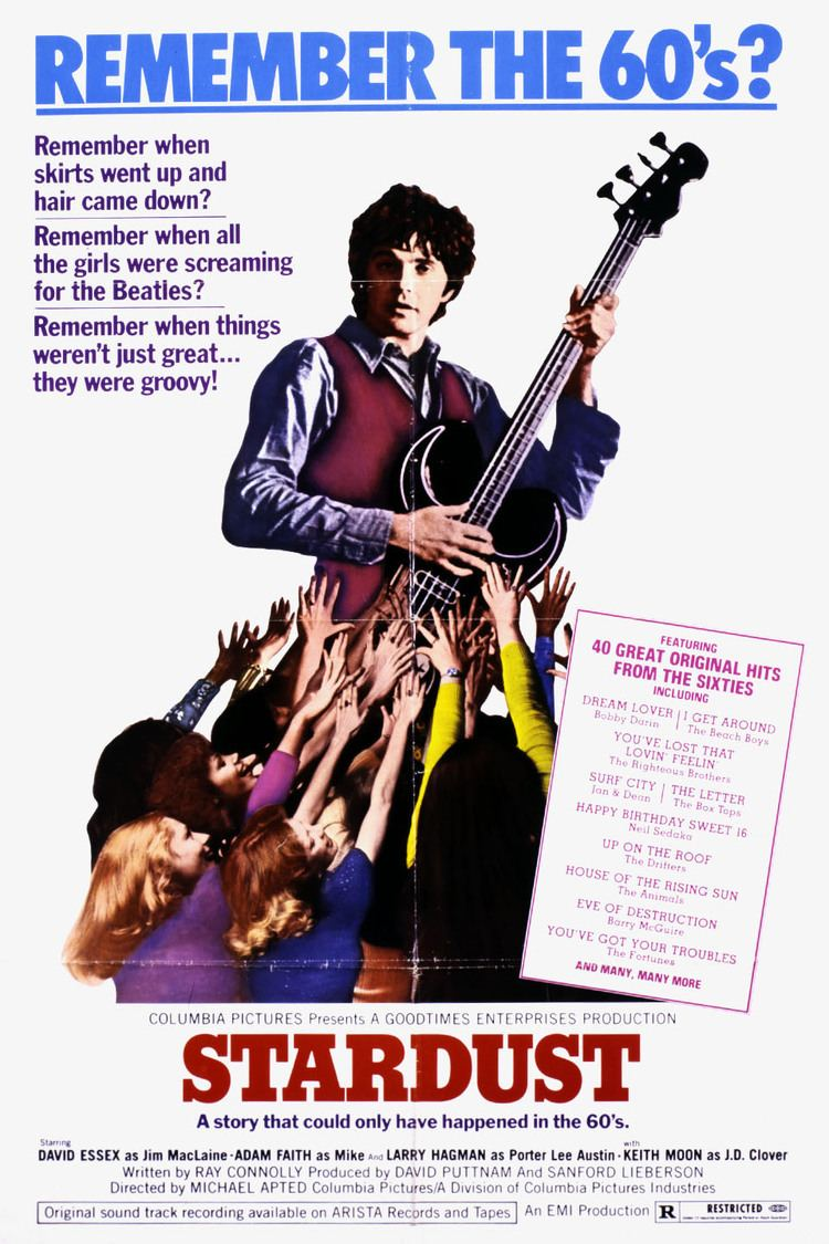 Stardust (1974 film) wwwgstaticcomtvthumbmovieposters41095p41095