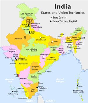 States and union territories of India States and union territories of India Wikipedia